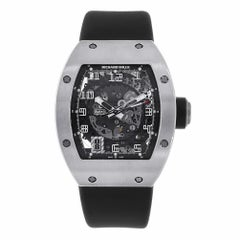 Richard Mille 18 Karat White Gold Skeletonised Automatic Watch RM010