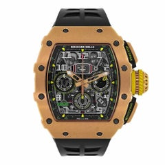 Richard Mille Automatic Flyback Chronograph Rose Gold Watch RM11-03