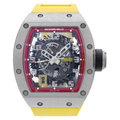 Richard Mille, Black Dial, Certified and Warranty
