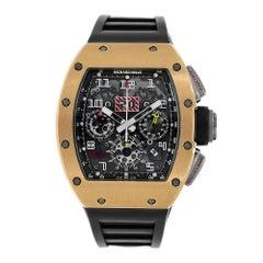 Richard Mille Felipe Massa Flyback Chronograph 18 Karat Rose Gold Titanium RM011