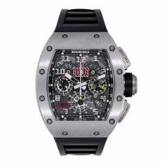 Richard Mille Felipe Massa Flyback Chronograph White Gold RM011 Watch