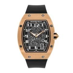 Richard Mille RM 67-01 Extra Flat Rose Gold Skeleton Watch