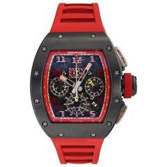Richard Mille RM011 1st Singapore GP Titanium Red Rubber Automatic Men's Watch