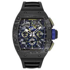 Richard Mille RM011 Felipe Massa 10th Anniversary Titanium Watch RM011