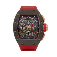 Richard Mille RM011 Lotus f1 18 Karat Rose Gold And Carbon RM011 Wristwatch