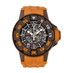 Richard Mille RM028 Brown PVD Titanium Automatic Divers Watch RM028