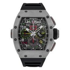 Richard Mille RM11-02 Titanium Chronograph Dual Time Zone Watch RM11-02