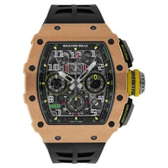 Richard Mille RM11-03 Automatic Flyback Chronograph Rose Gold Watch RM11-03
