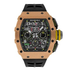 Richard Mille Rose Gold and Titanium Automatic Chronograph Watch RM11-03