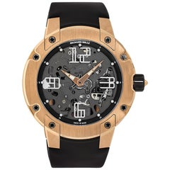 Richard Mille Rose Gold Automatic Extra Flat Watch RM033