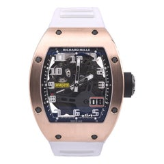 Richard Mille Rose Gold Automatic Oversize Date Watch Ref. RM029