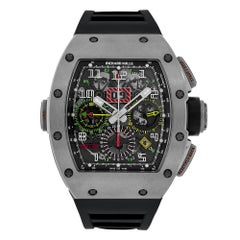 Richard Mille Titanium Chronograph Dual Time Zone Watch RM11-02