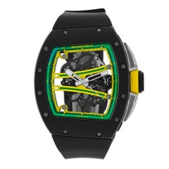 Richard Mille Yohan Blake Limited Edition TZP Black Ceramic Watch RM61-01