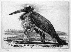 Das Grosse Tier II - Original Etching by Richard Muller - 1919