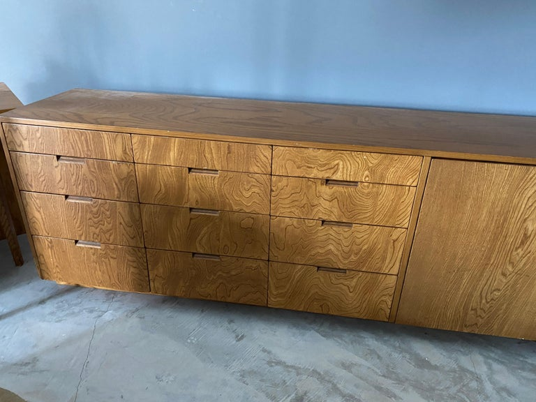 American Richard Neutra, Large Cabinet / Sideboard, Plywood, Los Angeles, America For Sale