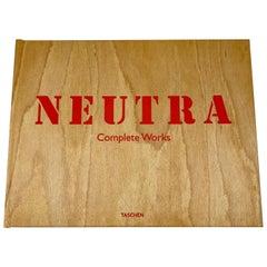 Richard Neutra, the Complete Works, Wood Bound Architecture Book, Original Box