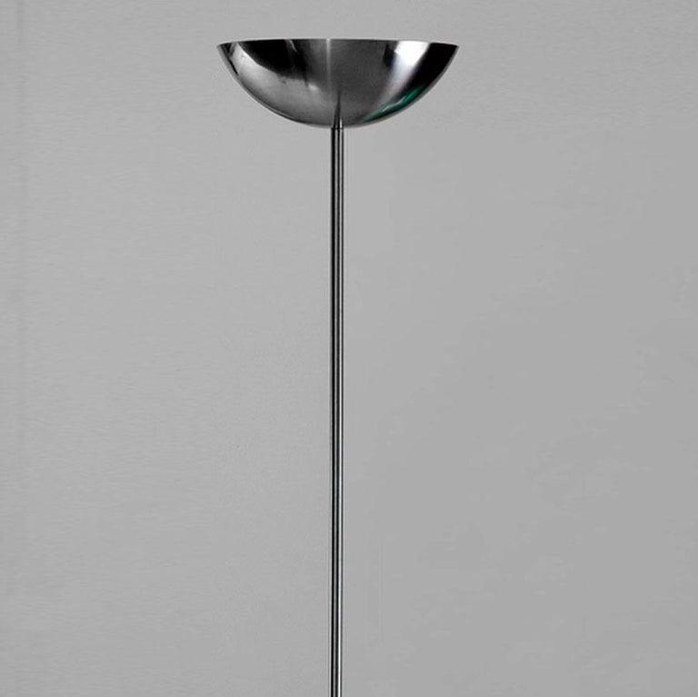 Streamlined Moderne Richard Neutra VDL Stainless Toucher For Sale