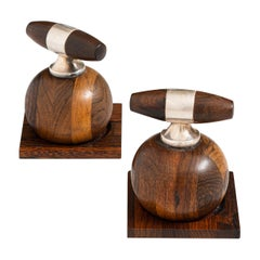 Richard Nissen Salt and Pepper Mills Produced by Nissen in Denmark