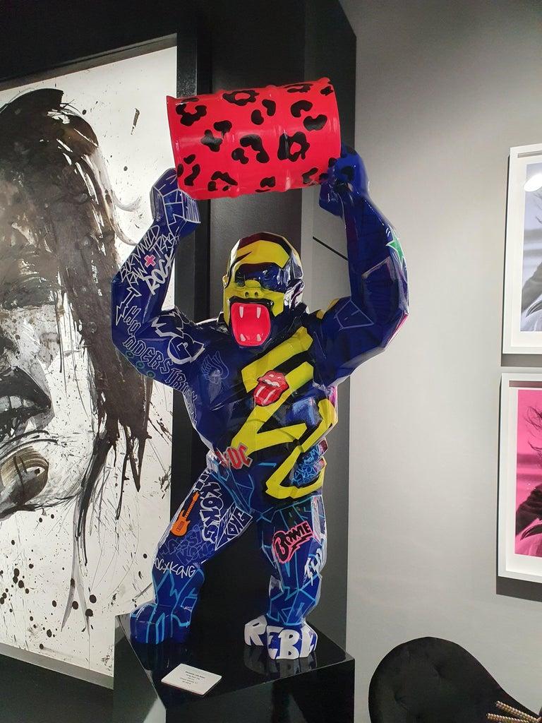Kong Baril Tag  - Pop Art Sculpture by Richard Orlinksi