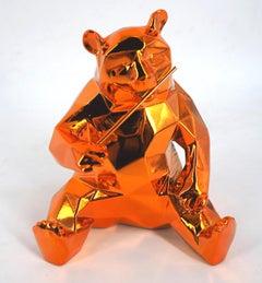 Panda Spirit (Orange Edition) - Sculpture