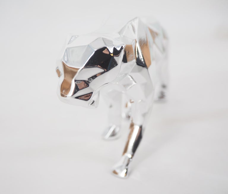 Panther Spirit (Silver edition) - Sculpture For Sale 1