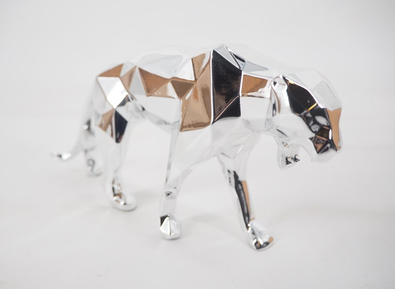 Panther Spirit (Silver edition) - Sculpture For Sale 5