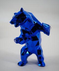 Standing Bear (Blue) - Sculpture