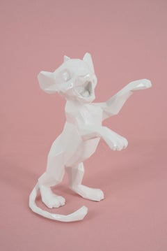 White Simba (Limited edition) - Sculpture