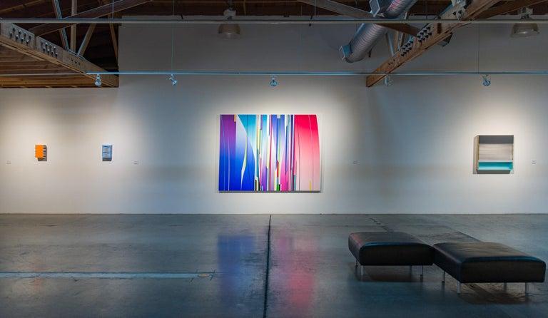 Krispy Kreme - Abstract Geometric Painting by Richard Roth