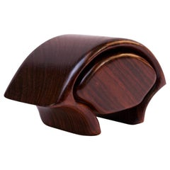 Richard Rothbard Sculptural Rosewood Jewelry / Trinket Box