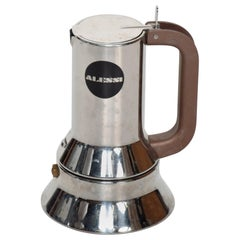Richard Sapper for Alessi Stylish Coffee Expresso Maker Vintage Modern Italy 80s