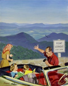 Lookout Point, Saturday Evening Post Cover