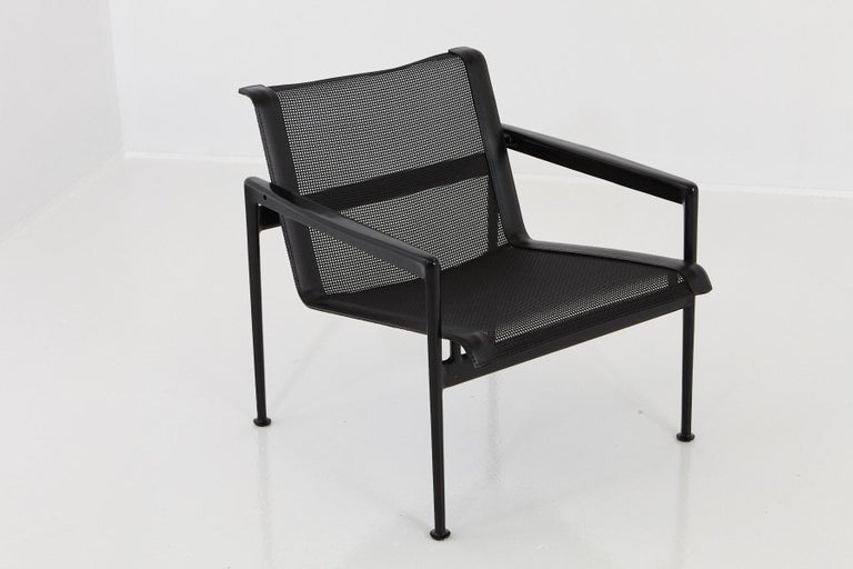 Richard Schultz designed all black garden lounge chair from the 'Leisure Collection', now called the '1966 Collection'.