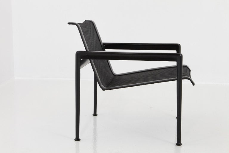 American Richard Schultz All Black Garden Lounge Chair from the '1966 Collection' For Sale