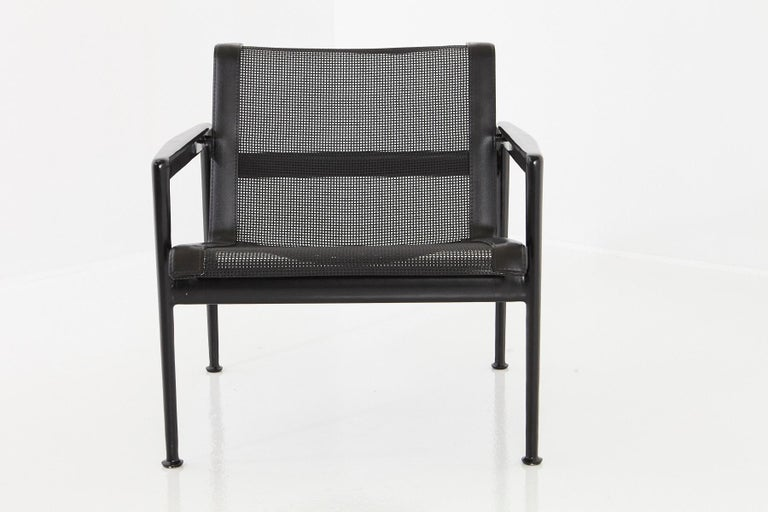 Contemporary Richard Schultz All Black Garden Lounge Chair from the '1966 Collection' For Sale