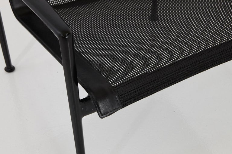 Richard Schultz All Black Garden Lounge Chair from the '1966 Collection' For Sale 1