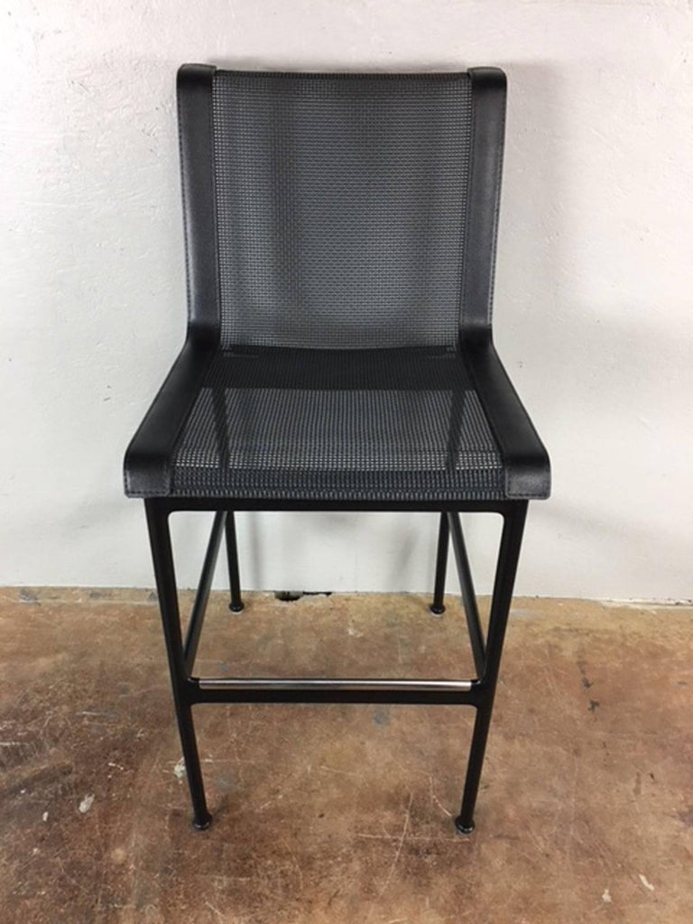 Mid-Century Modern Richard Schultz Bar Stools or Chairs For Sale