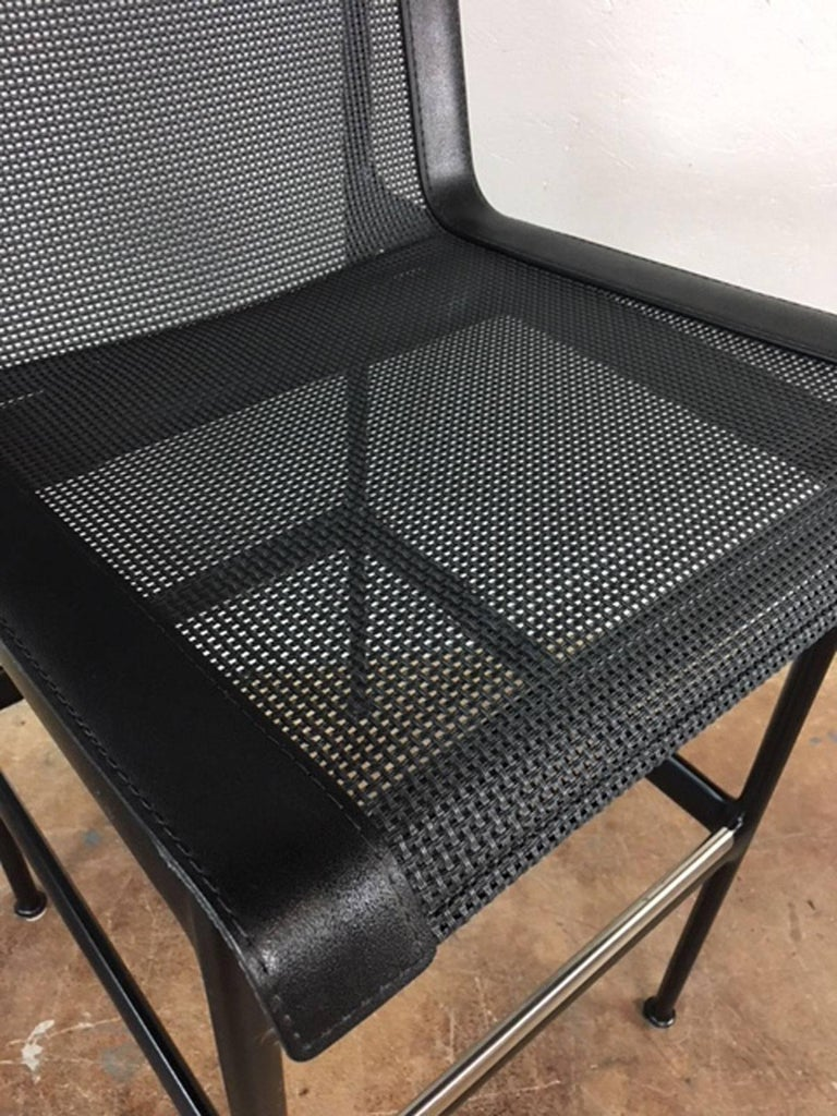 Richard Schultz Bar Stools or Chairs In Excellent Condition For Sale In Phoenix, AZ