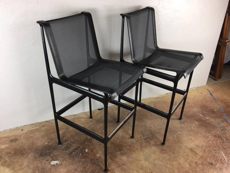 Late 20th Century Richard Schultz Bar Stools or Chairs For Sale