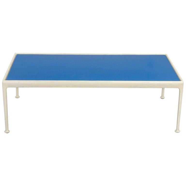 Richard Schultz for Knoll Blue Coffee Table For Sale
