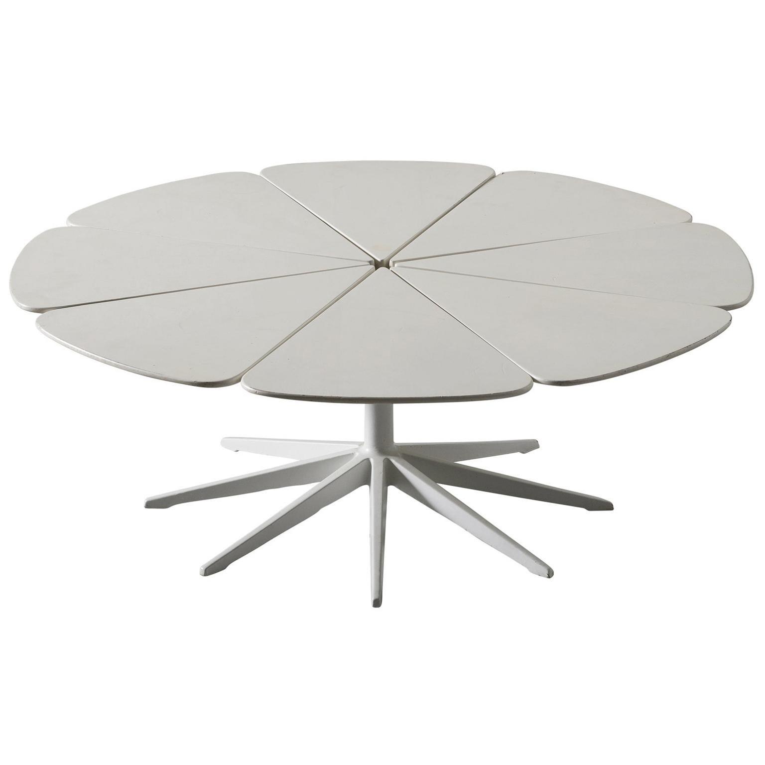 Richard Schultz for Knoll White Petal Side Table