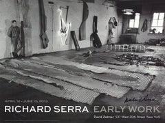 "Richard Serra-In His Studio (1968)-18"" x 24""-Offset Lithograph-2013-Contemporary"