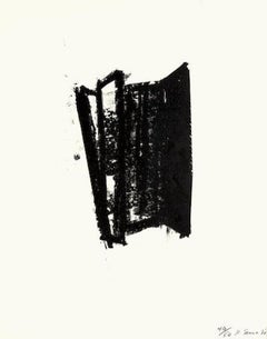 Richard Serra 'Sketch #6' Limited Edition Artist Signed Abstract Print