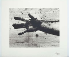 STILL FROM HAND CATCHING LEAD, lithograph and screen print, Ed. of 117
