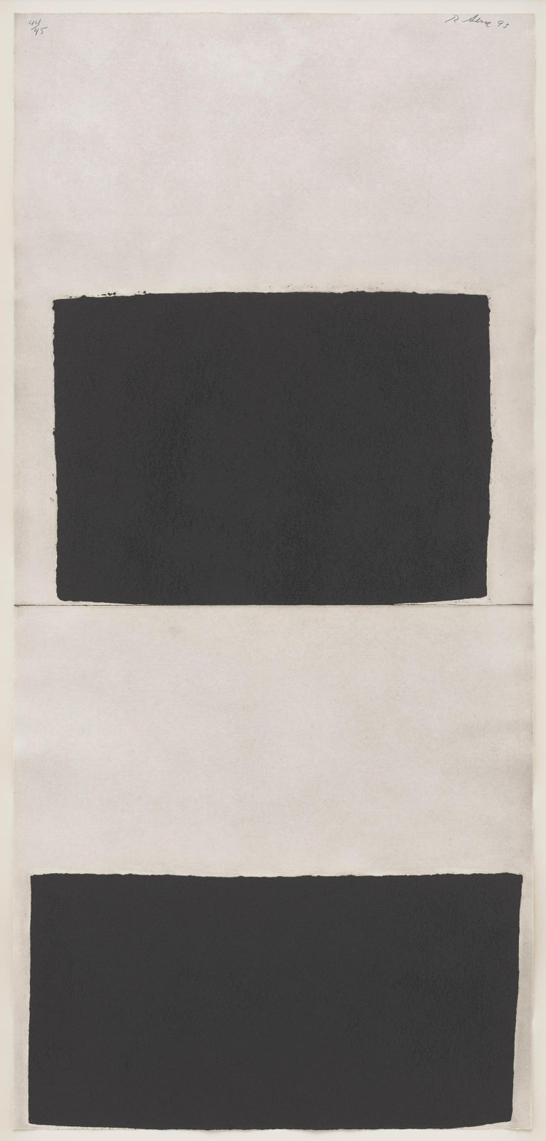 <i>Weight and Measure</i>, 1993, by Richard Serra, offered by Matthew Marks Gallery