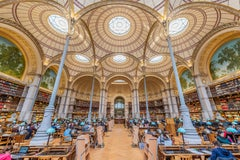 Labroust Reading Room, Paris - color photography