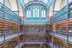 Rijks Museum Library - color photography