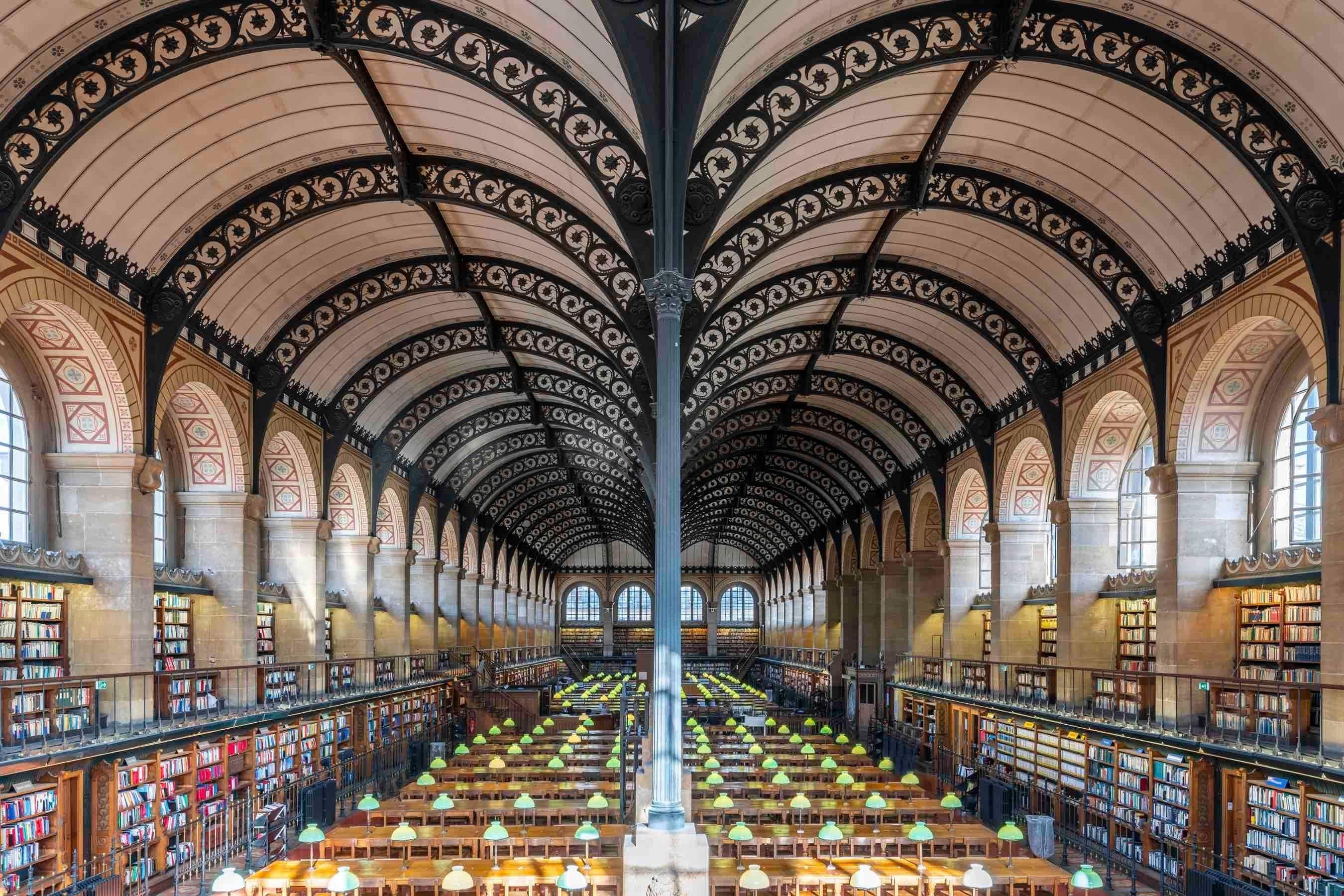 Saint Genevieve Library Paris