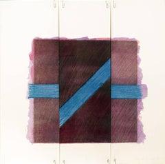 Two of a Kind Va (broken blue line on purple)