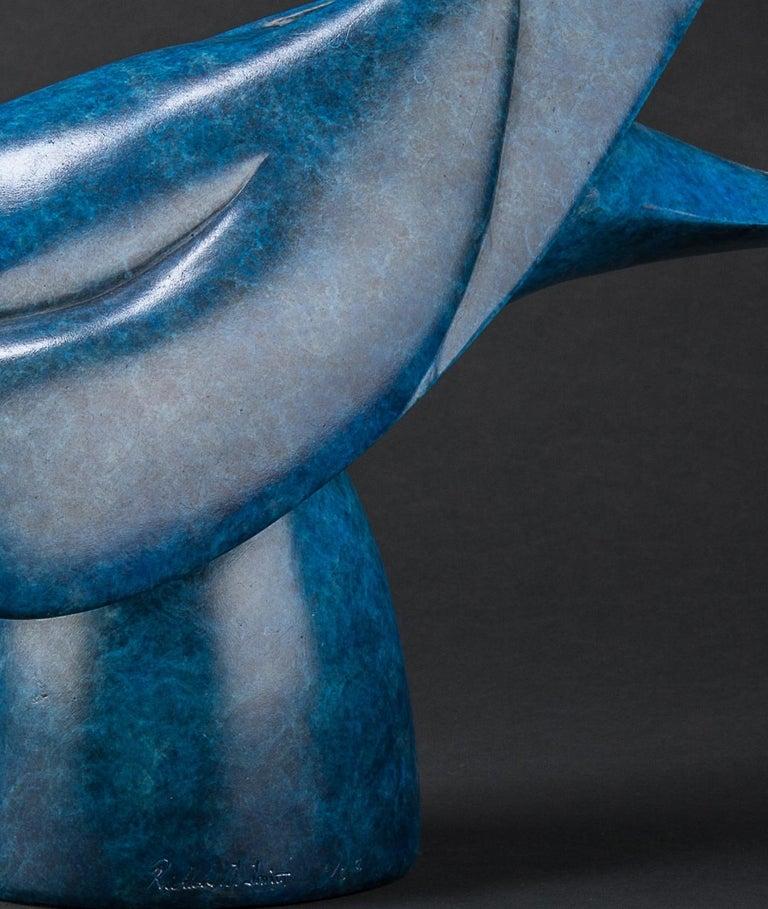 'Macaw' Solid Bronze Bird. Modern British, Wildlife & Nature Scuplture For Sale 1